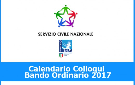 Calendario Colloqui –  Bando Ordinario 2017
