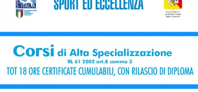 Corsi di Alta Specializzazione