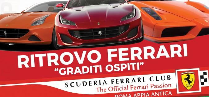 Ritrovo Ferrari a Roma Sport Experience – Cinecittà World