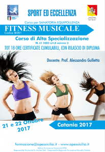 fitness musicale catania