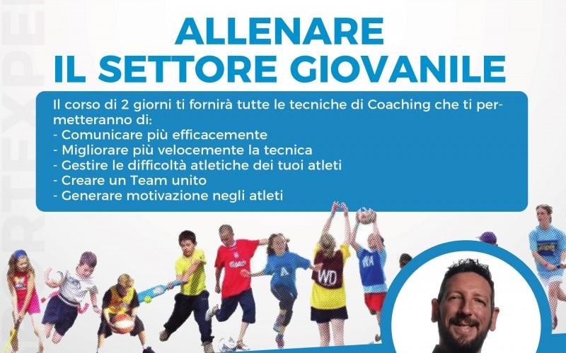 Allena il settore giovanile: formazione a Roma Sport Experience