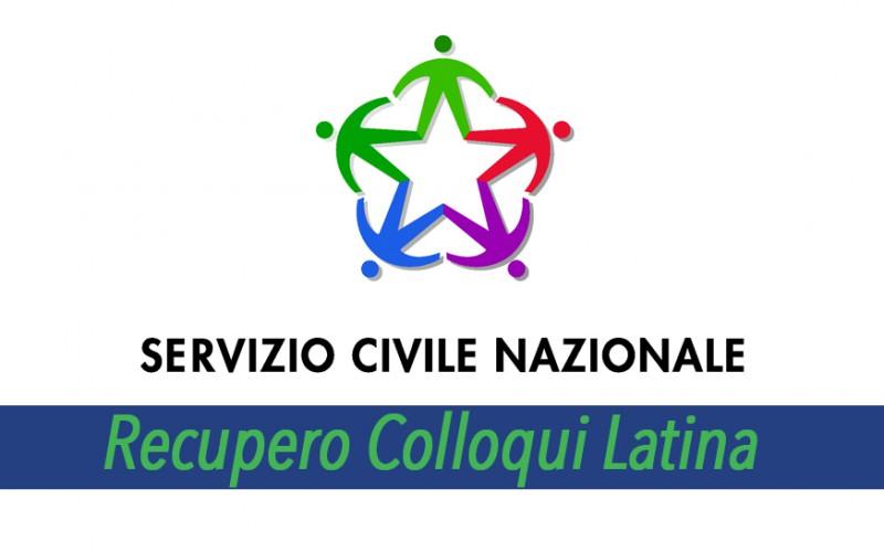 Servizio Civile: recupero colloqui OPES Latina