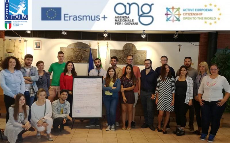 OPES e cittadinanza europea: partita la settimana del progetto Action