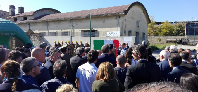 Sport e Periferie: OPES a Scampia per l'avvio del cantiere che trasformerà la Caserma Boscariello
