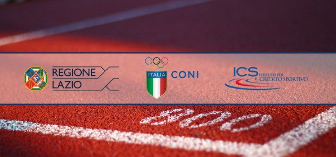 """Impiantistica sportiva: al via il bando della Regione Lazio """"Sport in/e movimento"""""""