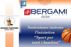 Basket Castoro a sostegno dello Sport