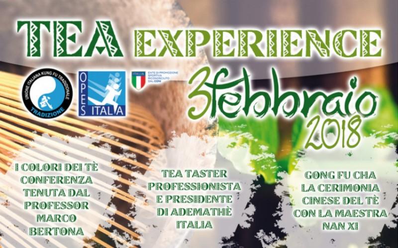 Tea Experience: il 3 febbraio l'iniziativa a cura di UIKT