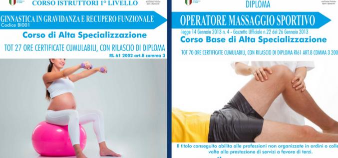 Ginnastica in gravidanza e Massaggio sportivo: i nuovi corsi in Sicilia