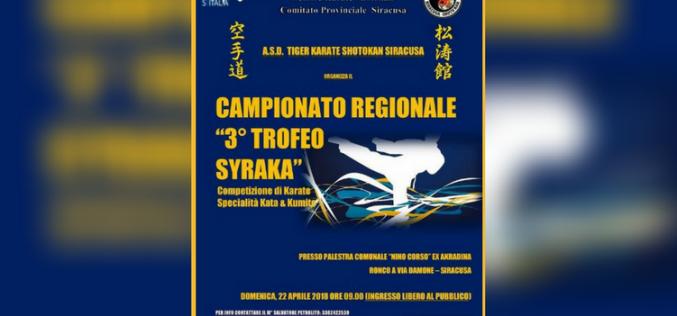 22 Aprile 2018: Campionato Regionale OPES Settore Karate