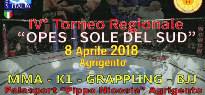 "IV Torneo Regionale ""OPES – Sole del Sud"""