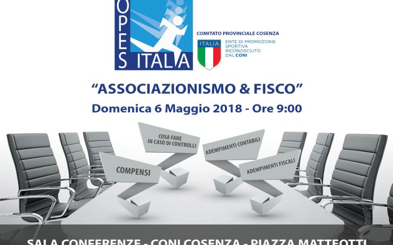 """Cosenza: corso gratuito su """"Associazionismo e Fisco"""""""