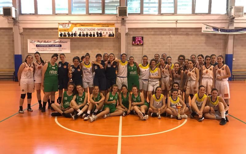 La ASD Bull Basket si è aggiudicata il Torneo Under 15