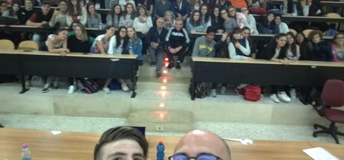 """Il calciatore Del Pinto alla conferenza di """"Entra In Squadra!"""""""