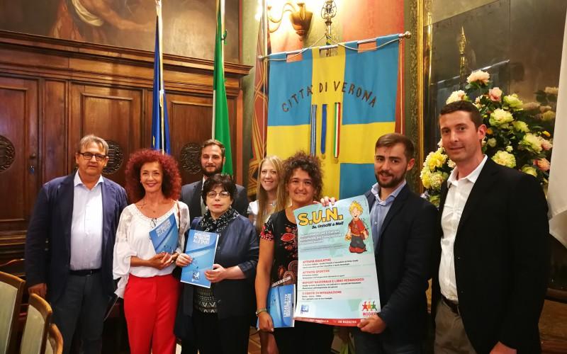 """Presentato a Verona il Progetto """"S.U.N.: Su Unisciti a Noi"""""""