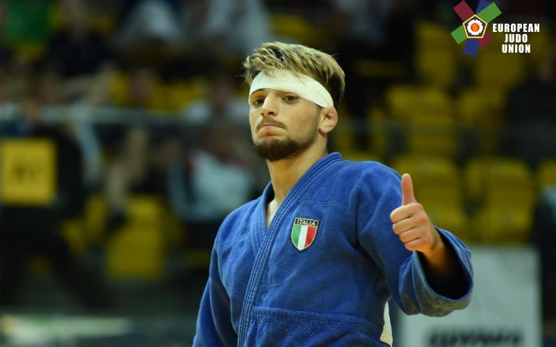 Luigi Brudetti porta l'Italia e lo Star Judo Club dei Maddaloni sul tetto d'Europa