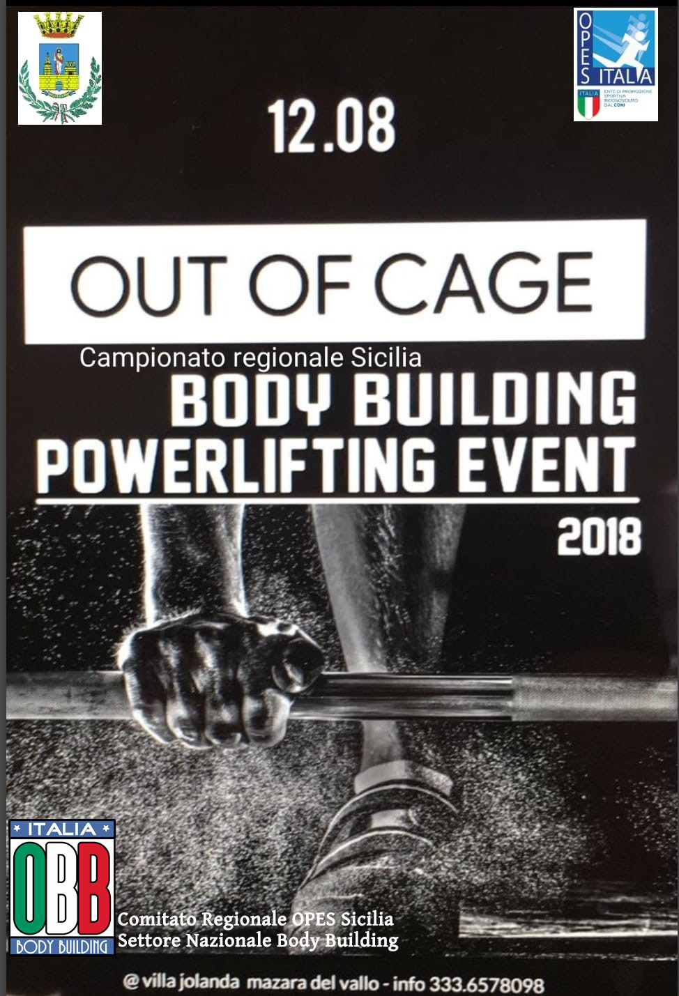 Out of cage 12 agosto