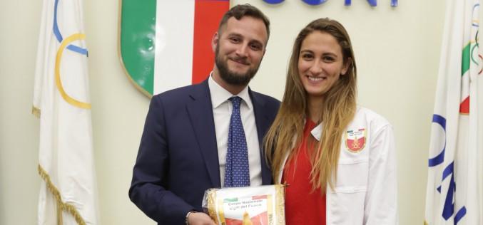 Meravigliosa Simona Quadarella agli Europei di Glasgow: oro e record italiano negli 800 stile libero