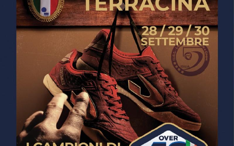 Campionato Italiano Futsal Over 40, tutto pronto a Terracina