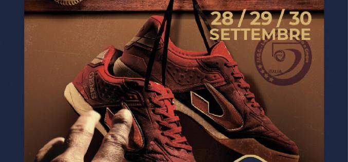 Campionato Italiano Futsal Over 40, dal 28 al 30 settembre a Terracina