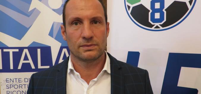 Fabrizio Loffreda è il nuovo responsabile del Settore Nazionale Calcio a 8