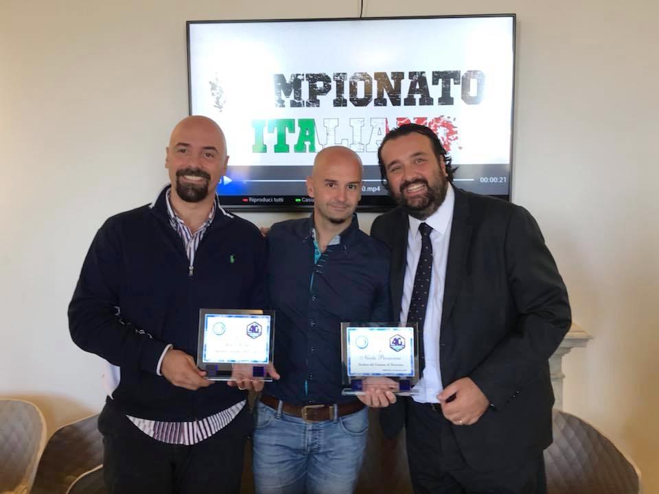 Juri Morico, Nicola Procaccini e Andrea Montemurro (1)