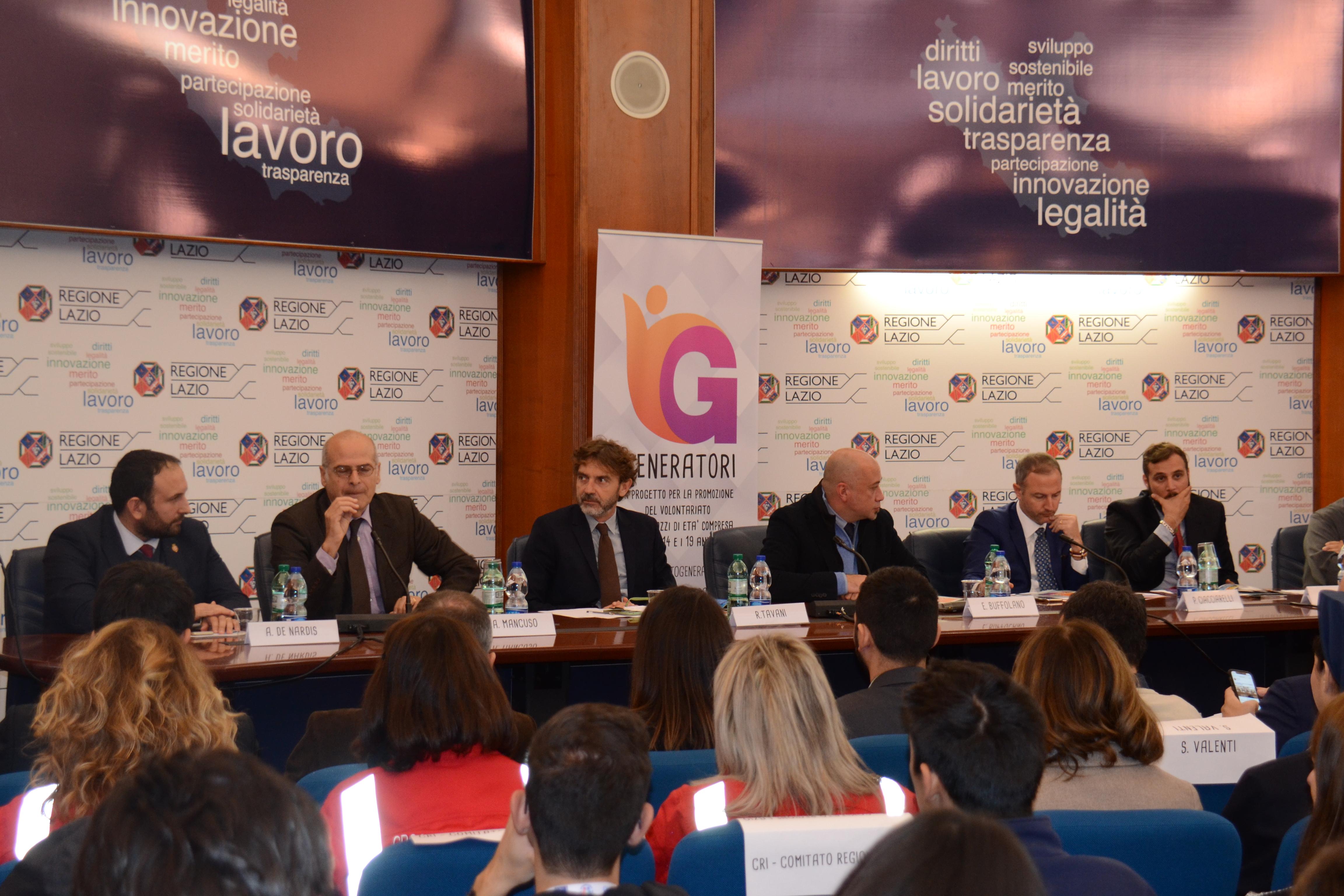 """""""Generatori"""", con la conferenza stampa il Progetto sul ..."""