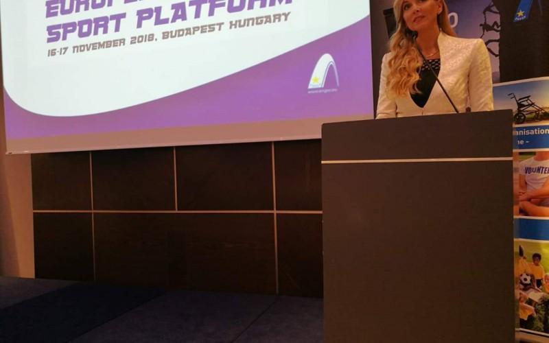 OPES presente al primo European Sport Platform per discutere del futuro dello sport