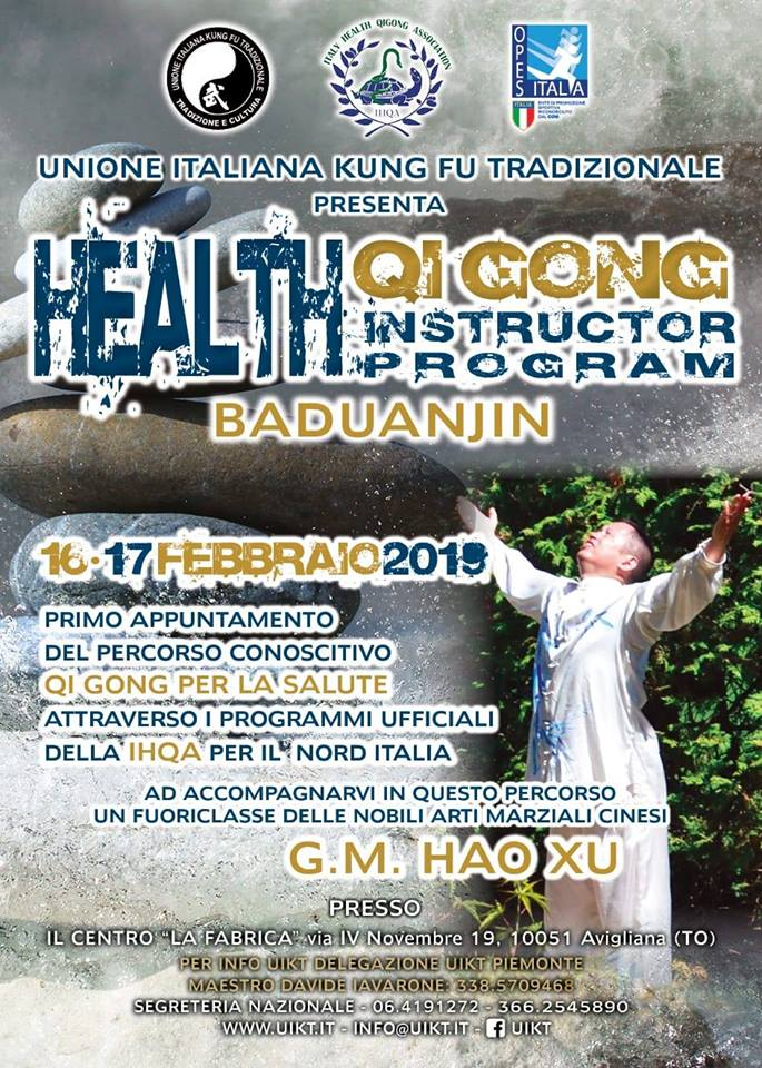 HEALTH QUIGONG - AVIGLIANA