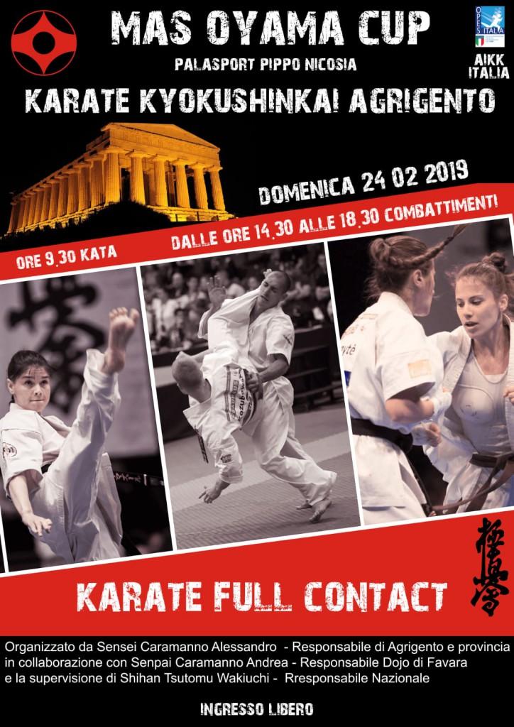 karate agrigento