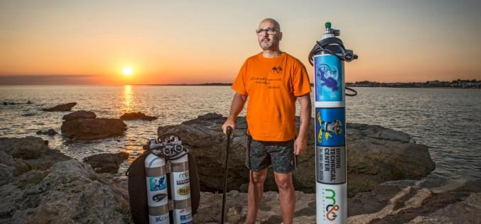 Paolo De Vizzi, i record e le imprese subacquee oltre i limiti