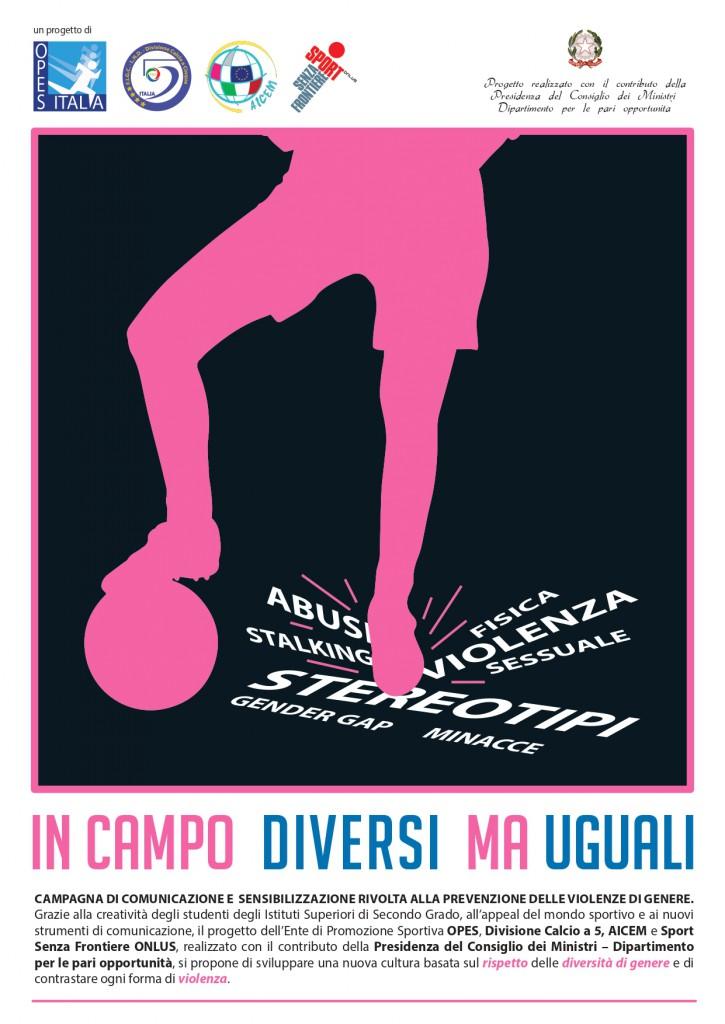 Flyer In Campo Diversi Ma Uguali