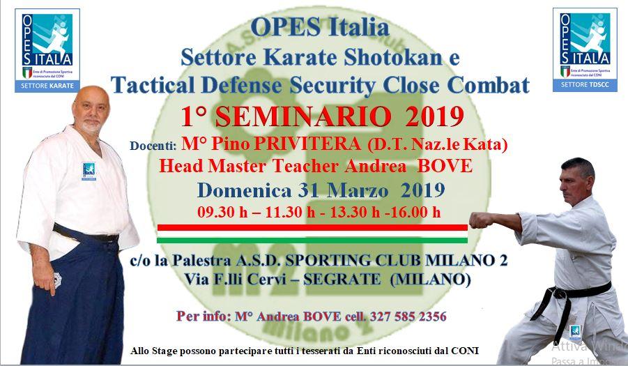 seminario milano 31 marzo 2019