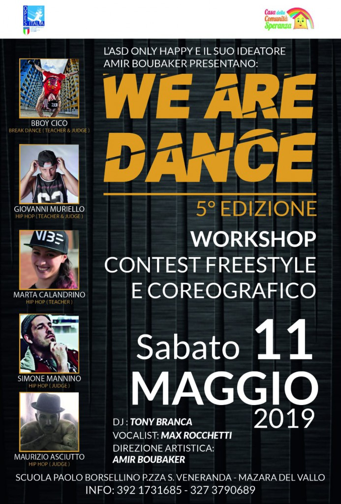 Workshop WE ARE DANCE 5 EDIZIONE