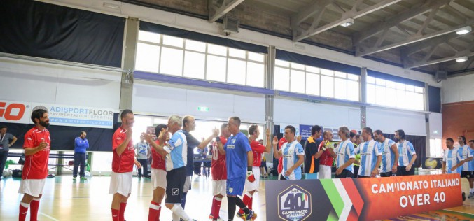 Campionato Italiano Futsal Over 40, la seconda Final Eight è in programma a Montesilvano dal 21 al 23 giugno