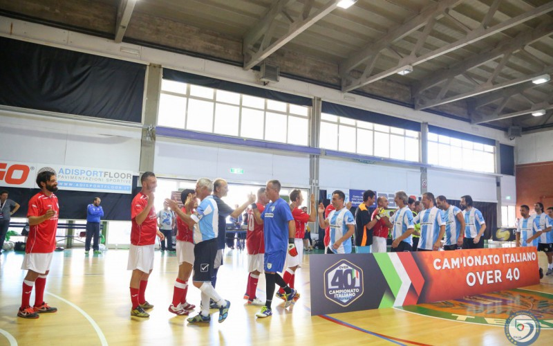 Campionato Italiano Futsal Over 40, la seconda Final Eight è in programma a Montesilvano dal 21 al 23 giugno