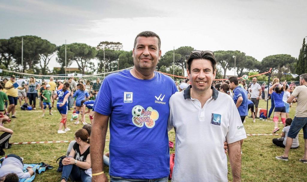 SX presidente provinciale opes daniele valerio-DX vicepresidente nazionale davide fioriello