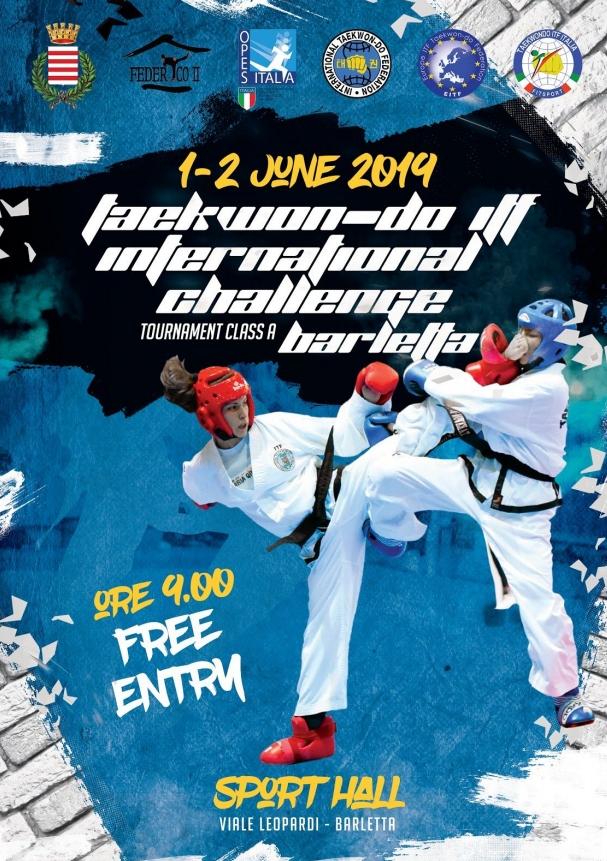 locandina taekwondo