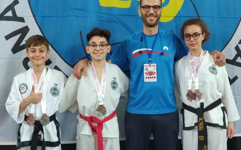 Taekwondo: dopo i risultati positivi al Grand Prix di Zvornik, gli atleti della Fitsport saranno impegnati nell'International Challenge di Barletta
