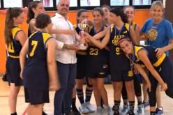 Roma, è l'Alfa Omega a gioire nella finale del Torneo Basket U15 femminile di OPES