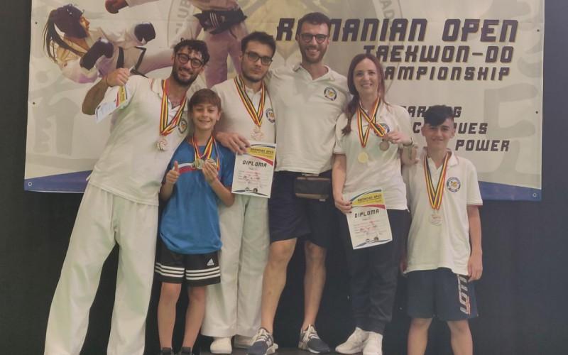 Taekwondo: 7 ori, 3 argenti e 1 bronzo, questo è il bottino dell'Italia all'Open di Bors (Romania)