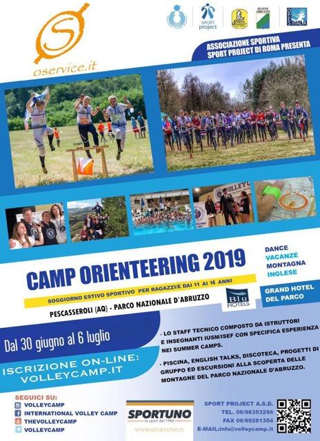 camp orienteering