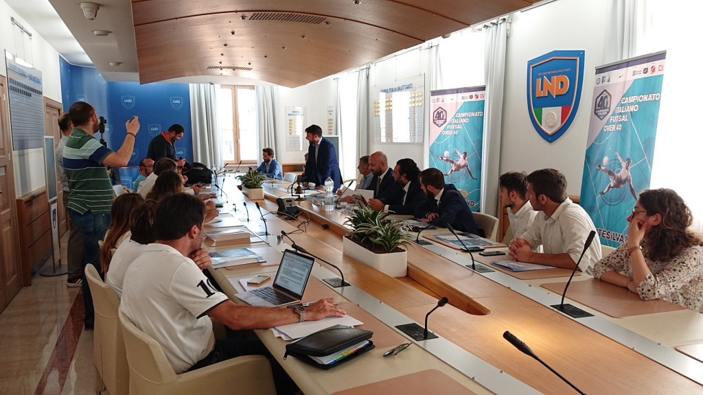 conferenza stampa FUTSAL OVER 40_1