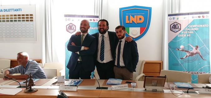 Presentata alla stampa la seconda edizione del Campionato Italiano Futsal Over 40