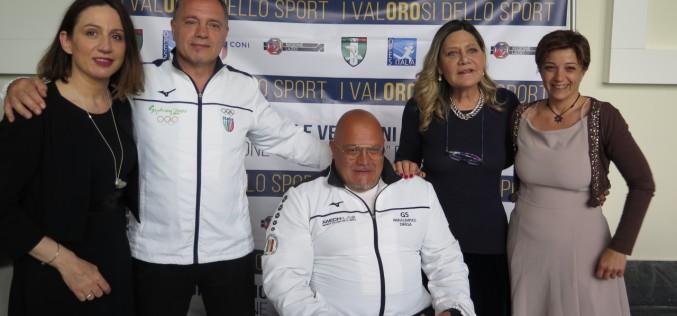 """Emozioni intense al Salone d'Onore del Coni per """"I Valorosi dello Sport"""""""