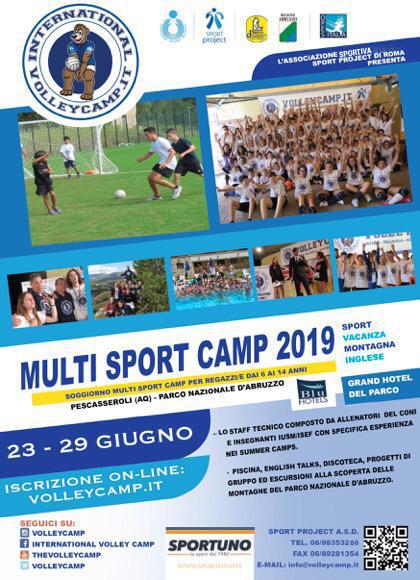multisport camp 2019