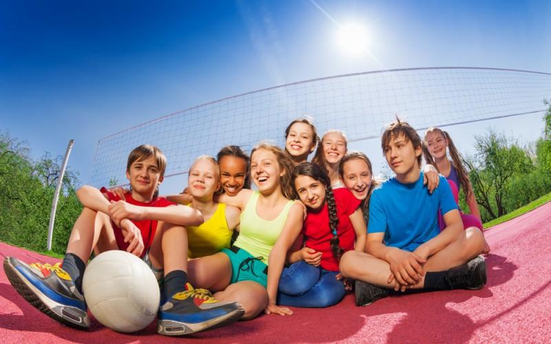 Volley Camp a Pescasseroli con la Sport Project di Roma