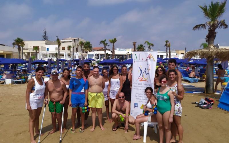 Sport ed inclusione, a Mazara il progetto Non Solo Assistenza protagonista in spiaggia