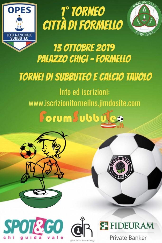 1° torneo Lega Nazionale Subbuteo