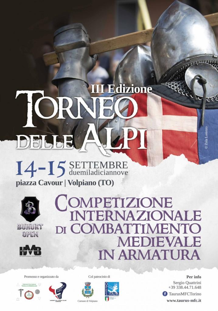 manifesto2 70x100 (2)_torneo delle alpi combattimento medievale