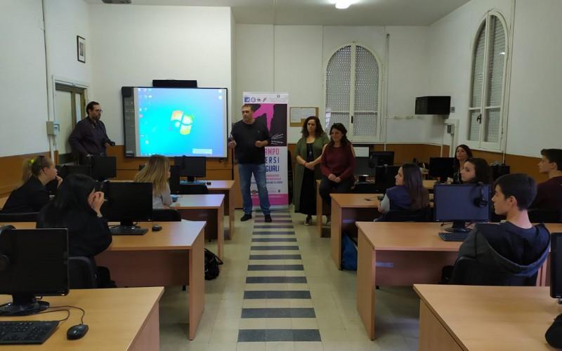 In Campo Diversi Ma Uguali, all'Istituto Giovanni Paolo II di Ostia una mattinata di dialogo e condivisione tra studenti
